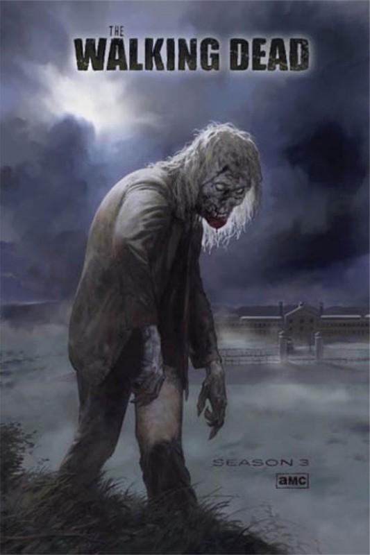 The Walking Dead: un poster della stagione 3 rilasciato in occasione del Comic-Con 2012