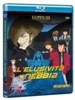 La copertina di Lupin III - L'elusività della nebbia (blu-ray)