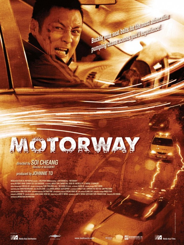 Motorway: la locandina internazionale del film