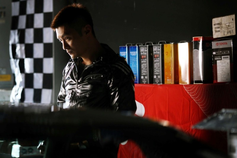 Motorway: Shawn Yue in una scena
