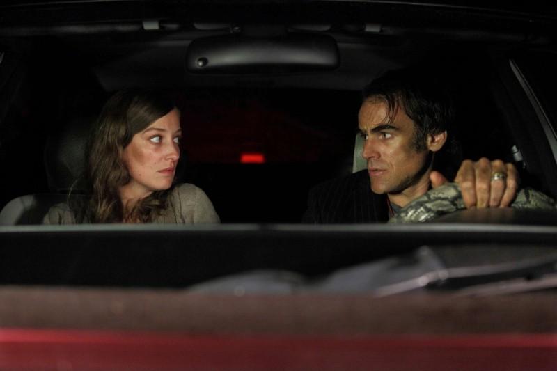 Nachtlärm: Sebastian Blomberg e Alexandra Maria Lara in auto in una scena del film