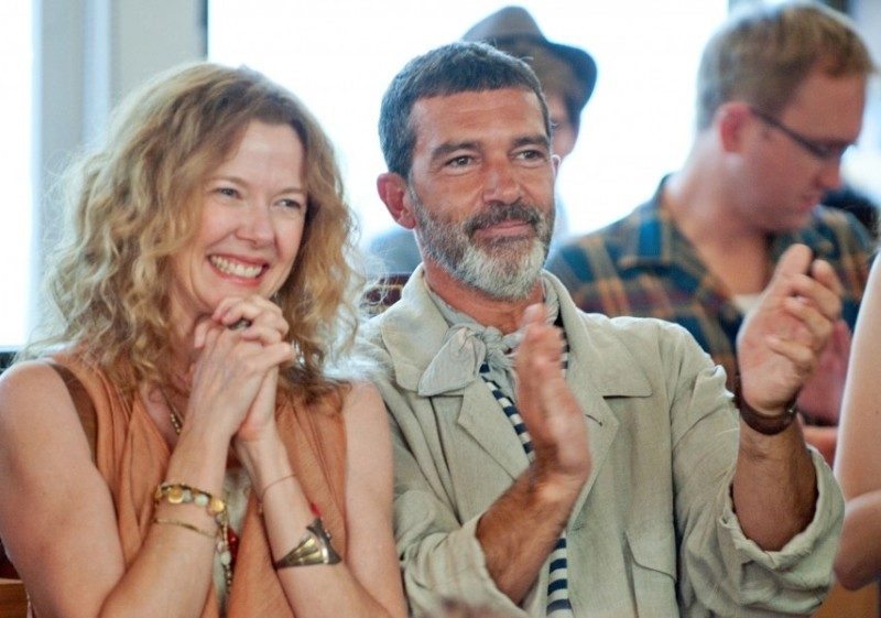 Ruby Sparks: Annette Bening e Antonio Banderas in una scena del film