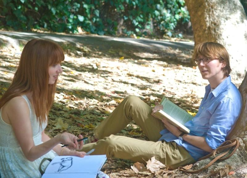 Ruby Sparks: Paul Dano e Zoe Kazan in una scena della commedia indie diretta da Jonathan Dayton e Valerie Faris