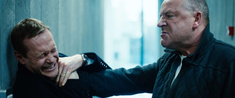 The Sweeney: i protagonisti Ray Winstone e Steven Mackintosh in una scena