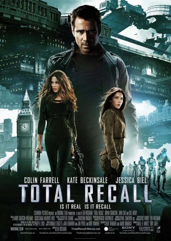 Total Recall - Atto di Forza: ecco la locandina internazionale presentata al Comic Con