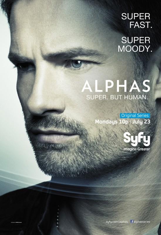 Alphas: un character poster della stagione 2 per Cameron Hicks, il personaggio interpretato da Warren Christie