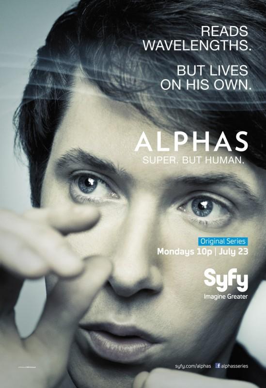 Alphas: un character poster della stagione 2 per Gary Bell, il personaggio interpretato da Ryan Cartwright