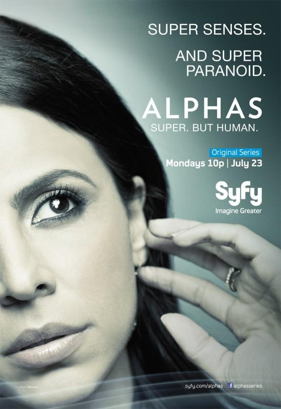 Alphas: un character poster della stagione 2 per Rachel Pirzad, il personaggio interpretato da Azita Ghanizada