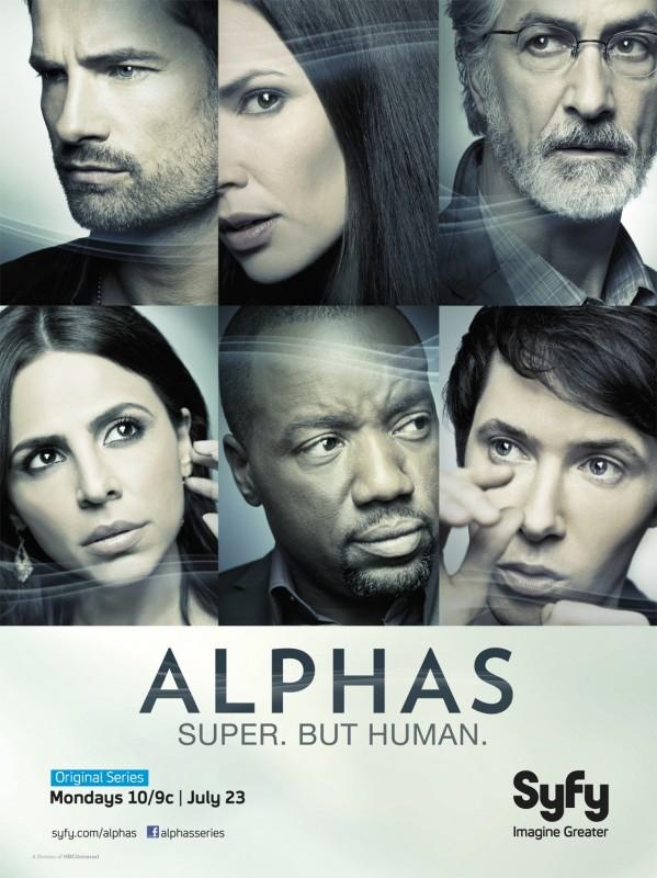 Alphas: un poster della stagione 2