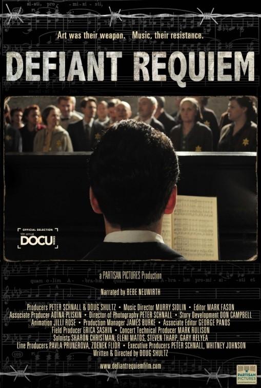 Defiant Requiem: la locandina del film