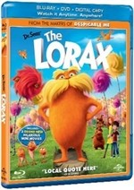 La copertina di Lorax - Il guardiano della foresta (blu-ray)