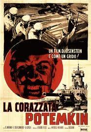 La corazzata Potemkin: locandina italiana