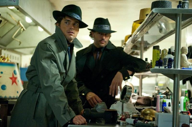 Magic Mike: Joe Manganiello e Matt Bomer in una curiosa scena del film