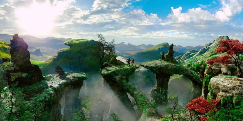 Ancora uno scorcio incantato del regno di Oz in Il grande e potente Oz