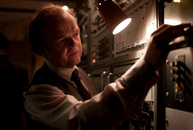 Berberian Sound Studio: il protagonsita Toby Jones in una scena