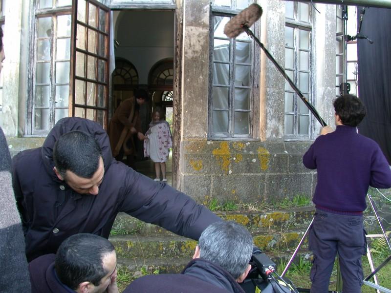 Deadline: una immagine dal set del film