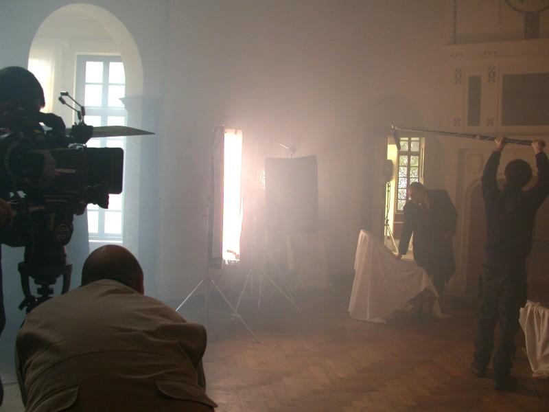 Deadline: una immagine dal set del film di M. Coglitore