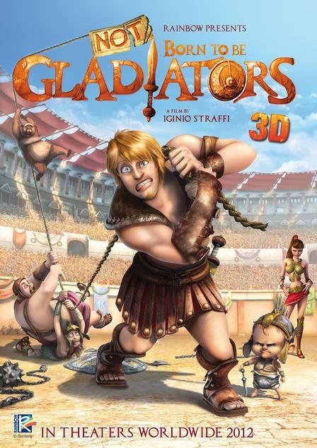 Gladiatori di Roma: la locandina internazionale del film