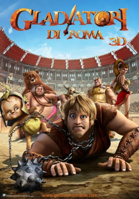 Gladiatori di Roma: la locandina italiana del film
