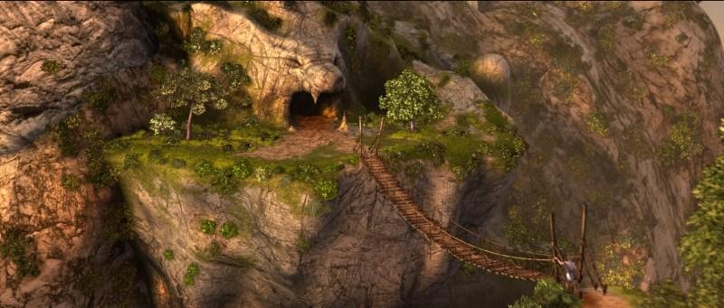 Gladiatori di Roma: una scena panoramica tratta dal film d'animazione di Iginio Straffi