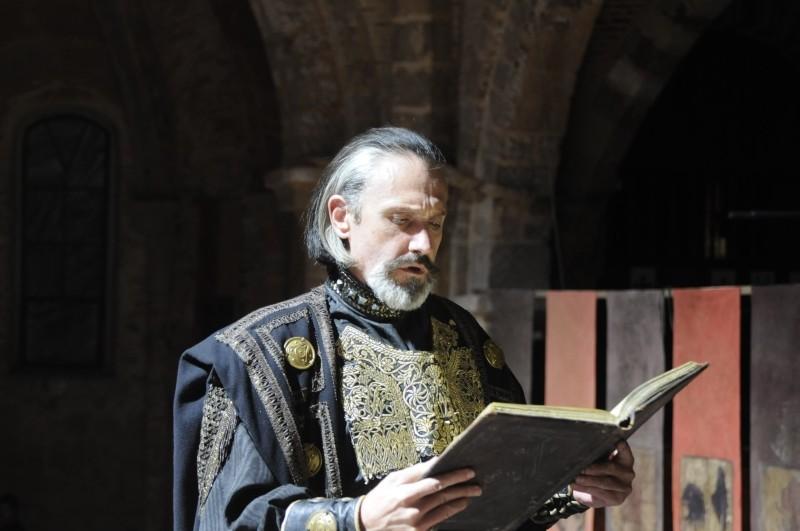 Il cavaliere del Santo Graal: Gary Piquer in una scena del film