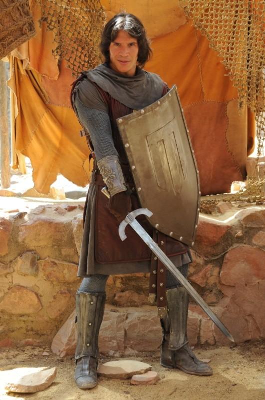 Il cavaliere del Santo Graal: Sergio Peris-Mencheta in una foto promozionale