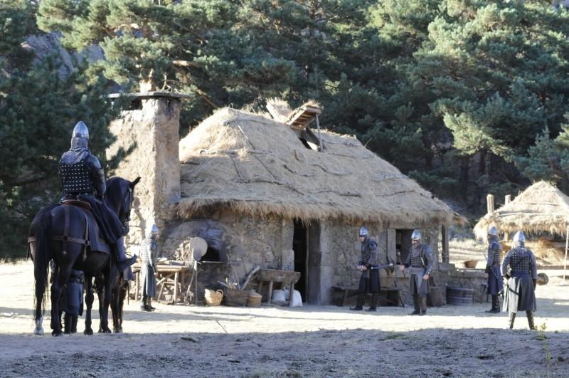 Il cavaliere del Santo Graal: un'immagine tratta dal film