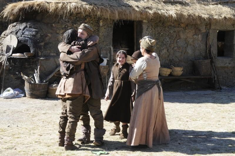 Il cavaliere del Santo Graal: una scena tratta dal film