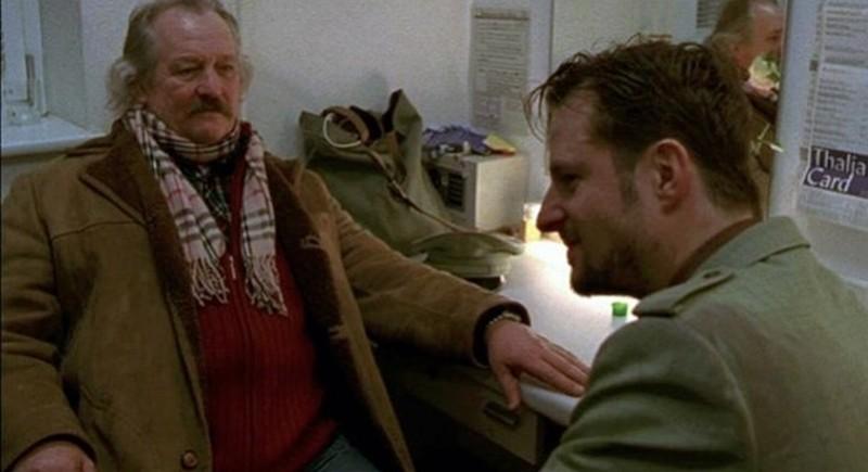 The Shine of Day: i protagonisti Walter Saabel e Philipp Hochmair in una scena del film