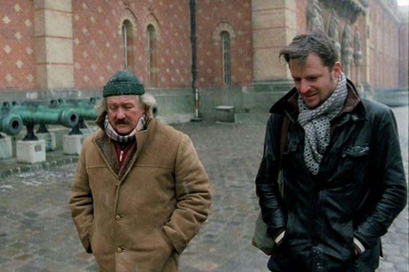 The Shine of Day: Walter Saabel e Philipp Hochmair in una scena del film