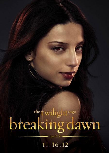 The Twilight Saga: Breaking Dawn - Parte 2: Angela Sarafyan nel character poster di Tia