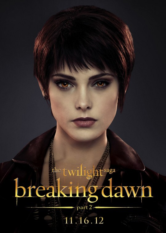 The Twilight Saga: Breaking Dawn - Parte 2: Ashley Greene nel character poster di Alice Cullen