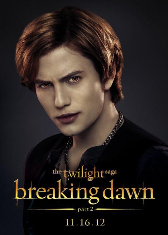 The Twilight Saga: Breaking Dawn - Parte 2: Jackson Rathbone nel character poster di Jasper Hale