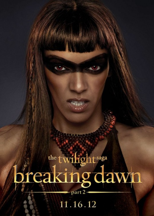 The Twilight Saga: Breaking Dawn - Parte 2: Judith Shekoni nel character poster di Zafrina