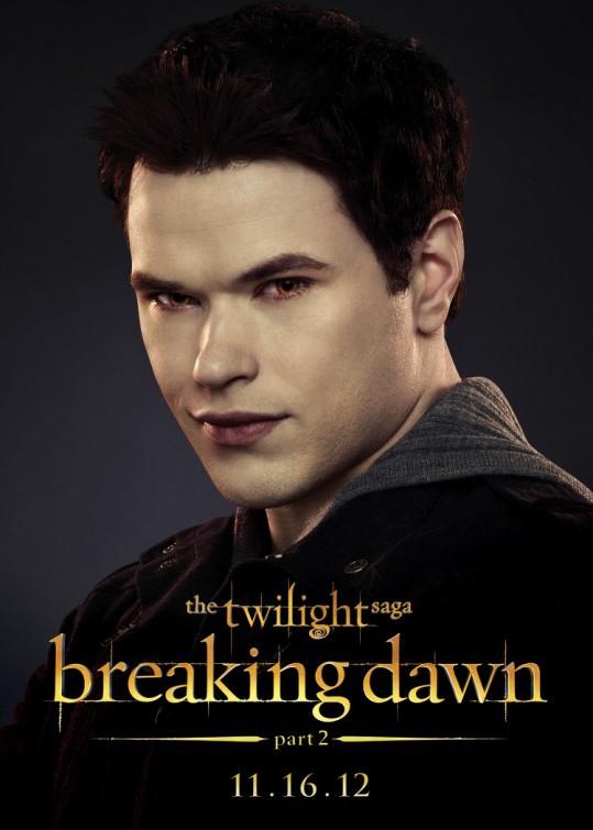The Twilight Saga: Breaking Dawn - Parte 2: Kellan Lutz nel character poster di Emmett Cullen