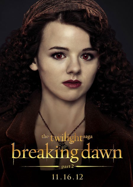 The Twilight Saga: Breaking Dawn - Parte 2: Marlane Barnes nel character poster di Maggie