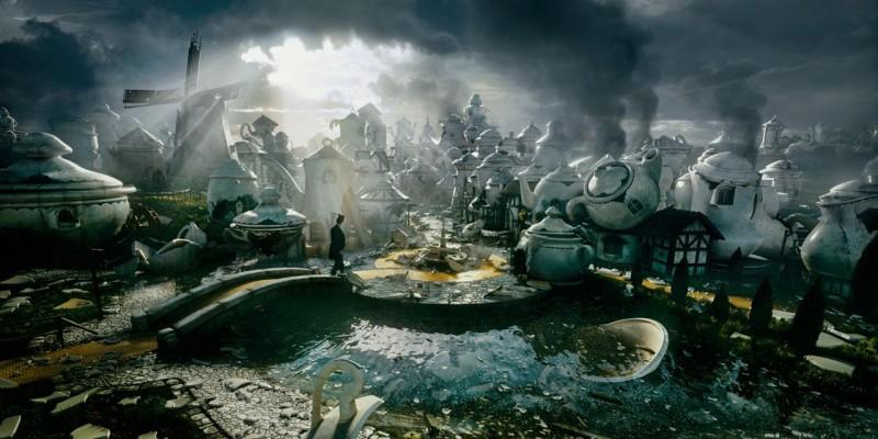 Uno sguardo al regno incantato de Il grande e potente Oz