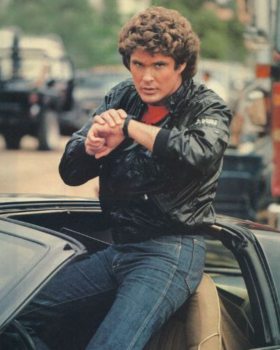 David Hasselhoff in Supercar