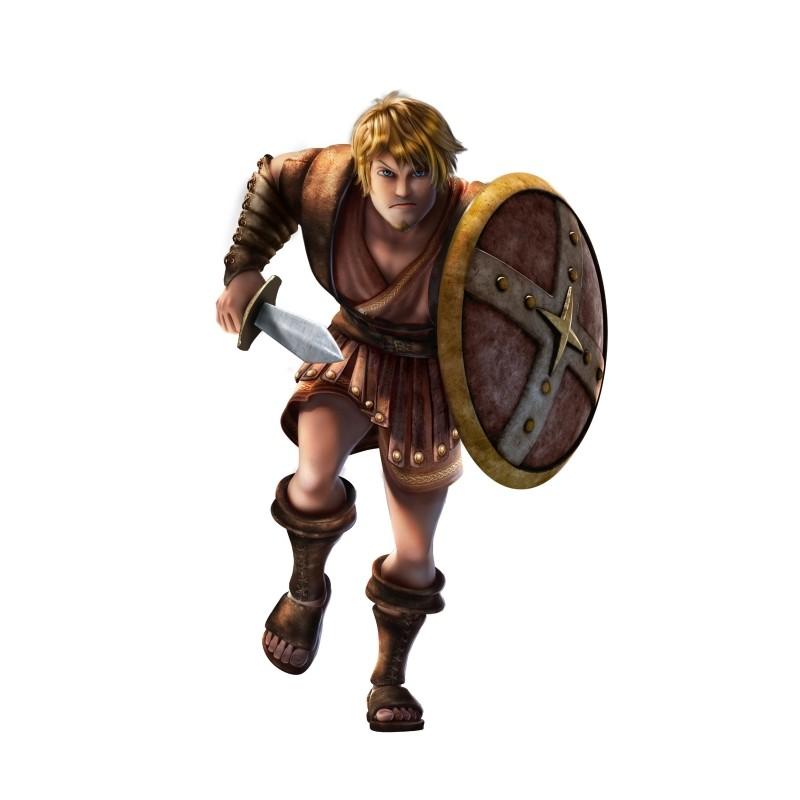 Gladiatori di roma timo il gladiatore doppiato da luca