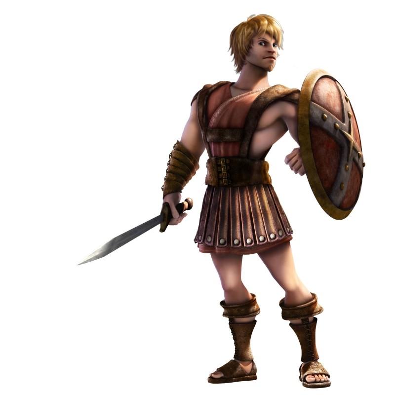 Gladiatori di Roma: Timo, l'apprendista gladiatore doppiato da Luca Argentero