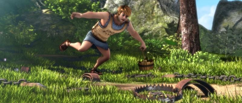 Gladiatori di Roma: Timo nel bosco alle prese con delle pericolosissime trappole