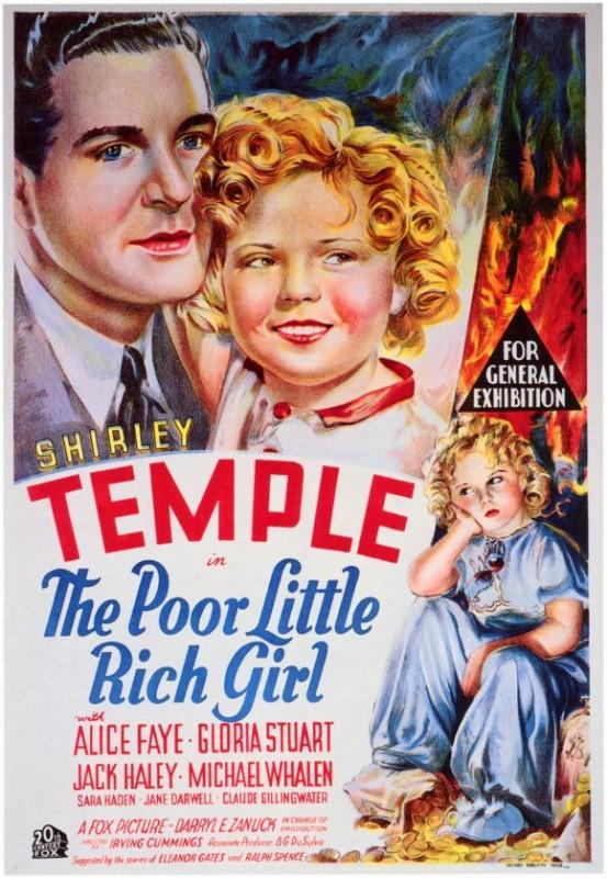 Una povera bimba milionaria: la locandina del film