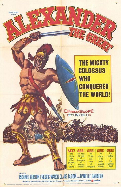 Alessandro il Grande: la locandina del film