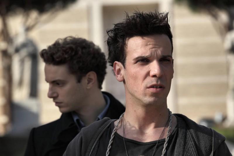 Come non detto: Francesco Montanari e Josafat Vagni (dietro) in una scena del film