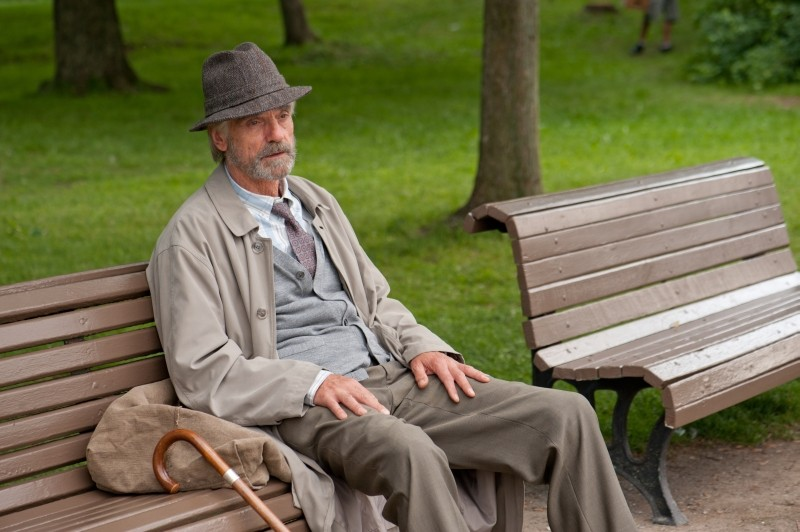 Jeremy Irons in una scena del dramma sentimentale The Words