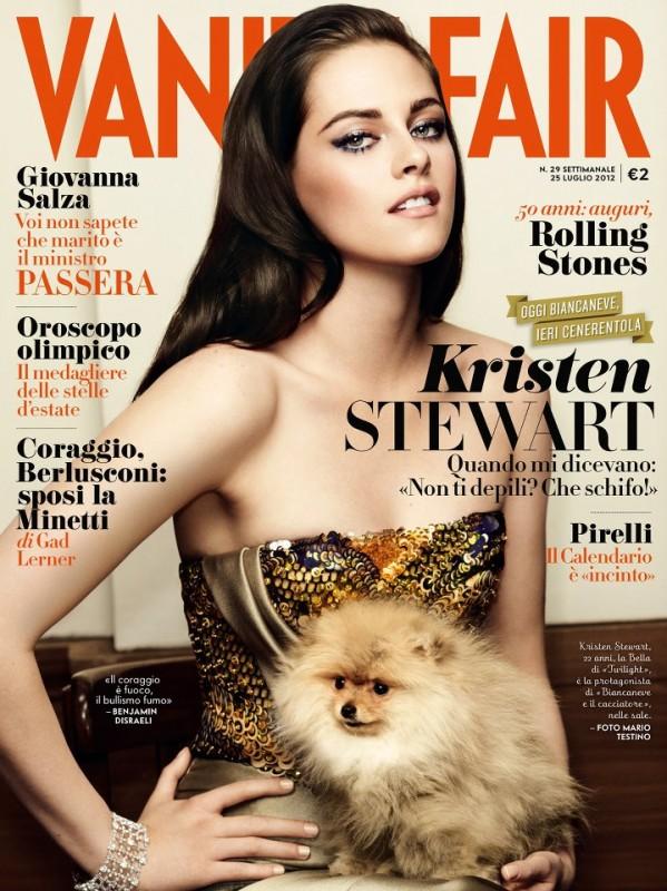 Kristen Stewart su Vanity Fair Italia (luglio 2012)
