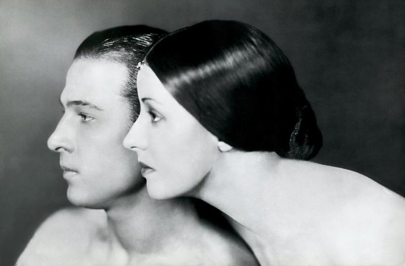 Rudolph Valentino con Natacha Rambova