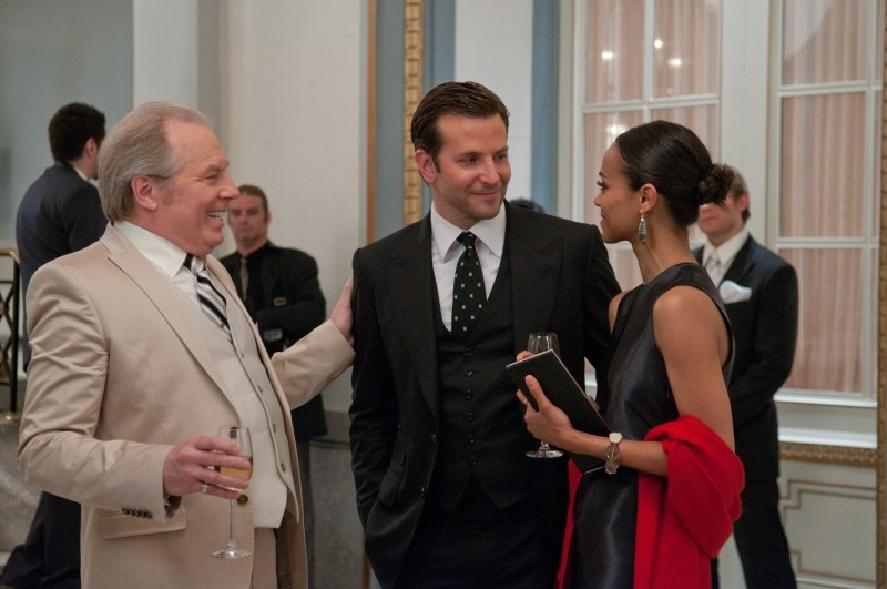 The Words: Bradley Cooper e Zoe Saldana in una scena insieme a Michael McKean