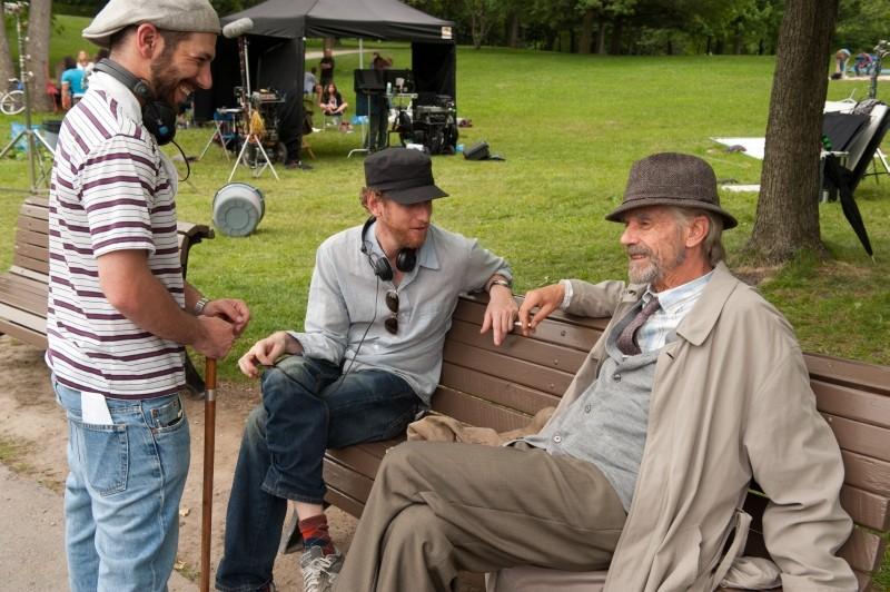 The Words: i registi del film Brian Klugman e Lee Sternthal chiacchierano sul set con Jeremy Irons