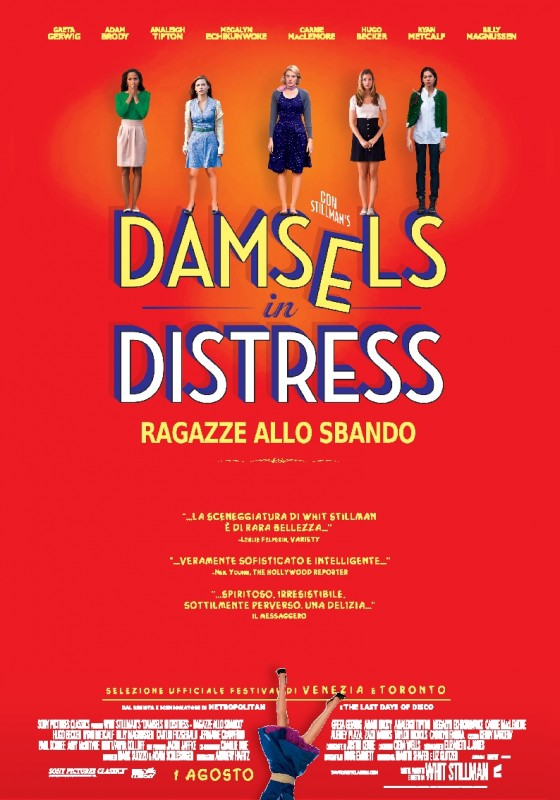 Damsels in Distress: la locandina italiana del film